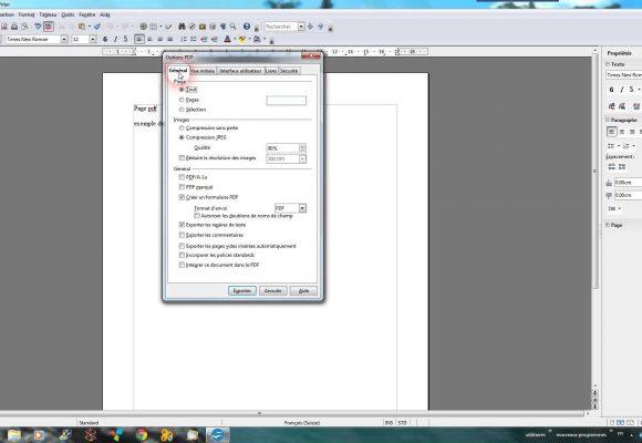 Comment convertir un fichier odt en pdf - Convertir fichier pdf en open office ...