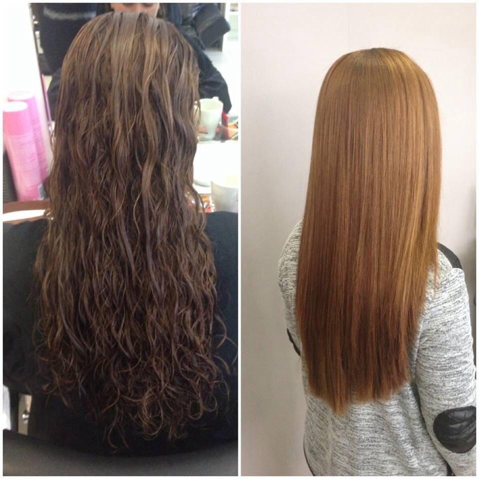 Lissage bresilien cheveux long